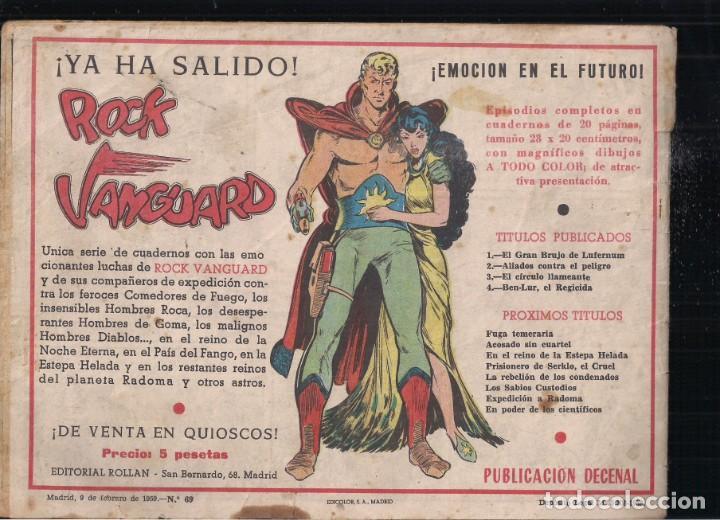 Tebeos: MENDOZA COLT Nº 69: EL DESTIERRO DE TOUWANI - Foto 2 - 235305350