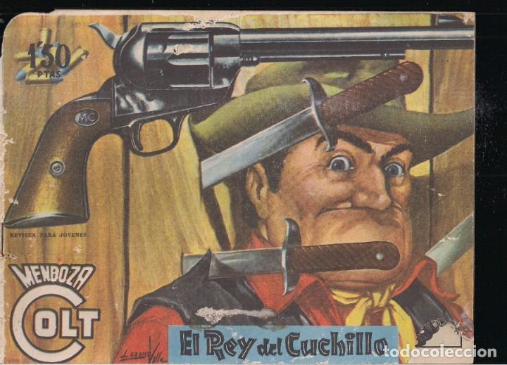 MENDOZA COLT Nº 69: EL DESTIERRO DE TOUWANI (Tebeos y Comics - Rollán - Mendoza Colt)