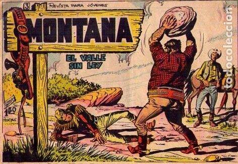 MONTANA (ROLLAN) Nº 3 (Tebeos y Comics - Rollán - Otros)
