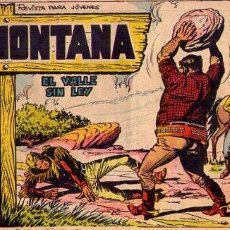Tebeos: MONTANA (ROLLAN) Nº 3. Lote 235471890