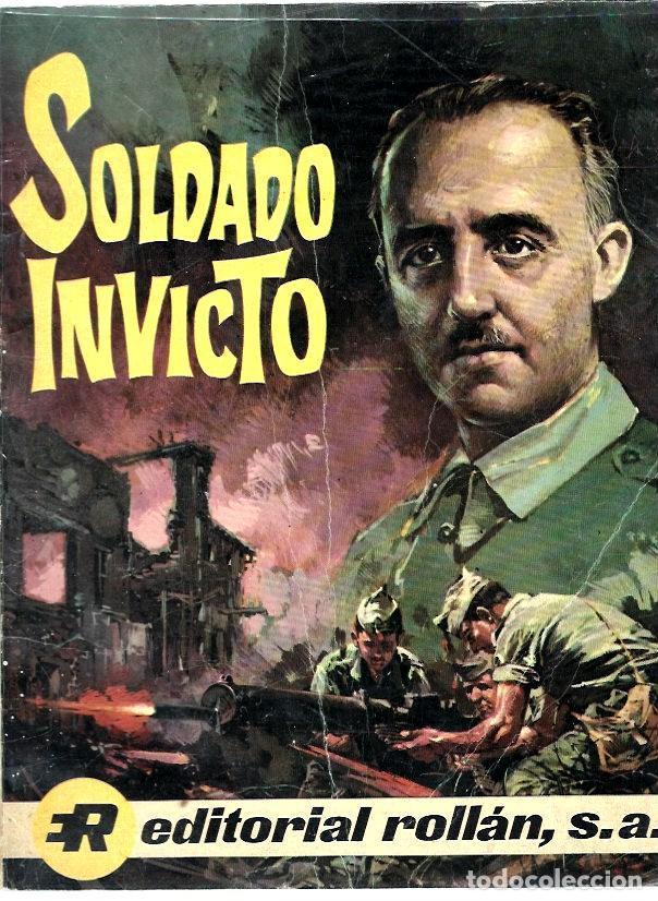 SOLDADO INVICTO DE EDITORIAL ROLLÁN (Tebeos y Comics - Rollán - Otros)
