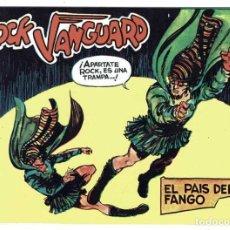 Tebeos: ROCK VANGUARD FACSÍMIL NO. 22. EL PAÍS DEL FANGO. Lote 240619700