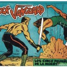 Tebeos: ROCK VANGUARD FACSÍMIL NO. 16. LOS CINCO PELDAÑOS DE LA MUERTE. Lote 240623625