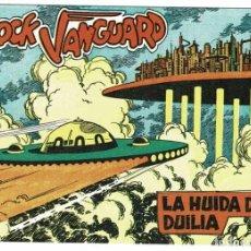 Tebeos: ROCK VANGUARD FACSÍMIL NO. 11. LA HUIDA DE DUILIA. Lote 240624695