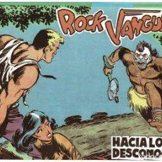 Tebeos: ROCK VANGUARD FACSÍMIL NO. 1. HACIA LO DESCONOCIDO. Lote 240642450