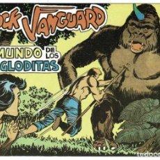 Tebeos: ROCK VANGUARD FACSÍMIL NO. 2. EL MUNDO DE LOS TROGLODITAS. Lote 240642690