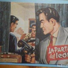 BDs: COMIC - AVENTURAS DEL FBI - LA PARTE DEL LEÓN - Nº 182 - EDICOLOR 1958 - ORIGINAL. Lote 240746930