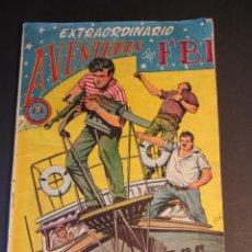 Tebeos: FBI, AVENTURAS DEL (1951, ROLLAN) EXTRA 5 · XII-1955 · EXTRAORDINARIO. NEGREROS DEL SIGLO XX. Lote 241476360