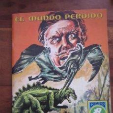 Tebeos: EL MUNDO PERDIDO. THE LOST WORLD. ARTHUR CONAN DOYLE. EDITPRIAL ROLLAN, SERIE AZUL Nº 13, 1973 MBE. Lote 242197575