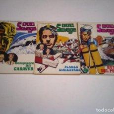 Tebeos: DOC SAVAGE - COMPLETA - 3 NUMEROS - EDITORIAL ROLLAN - MUY BUEN ESTADO - GORBAUD. Lote 244595595