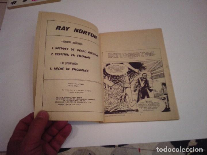Tebeos: RAY NORTON - COMPLETA - 3 NUMEROS - EDITORIAL ROLLAN - MUY BUEN ESTADO - GORBAUD - cj 133 - Foto 9 - 244595725