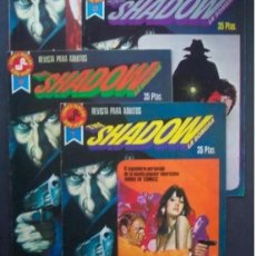 Tebeos: THE SHADOW (LA SOMBRA) COLECCION COMPLETA 4 EJEMPLARES EDITORIAL ROLLAN. Lote 245027520