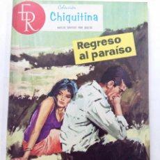 Tebeos: CHIQUITINA Nº 21 - REGRESO AL PARAÍSO - EDITORIAL ROLLÁN. Lote 245374880