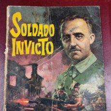 Tebeos: SOLDADO INVICTO - EDITORIAL ROLLAN - 1969 - 56P. 27X21. Lote 246535530