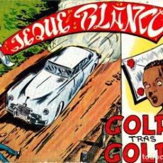 Tebeos: COMIC COLECCION JEQUE BLANCO Nº 63. Lote 247999895