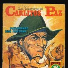Livros de Banda Desenhada: CARLITOS PAZ - EDITORIAL ROLLÁN / NÚMERO 1 (VAGABUNDO CON FORTUNA). Lote 248705470