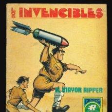 Giornalini: LOS INVENCIBLES - EDITORIAL ROLLÁN / NÚMERO 3 (EL MAYOR RIPPER). Lote 249274445