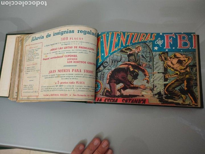 Tebeos: AVENTURAS DEL FBI Vol. ENCUADERNADO 1951 N° 1 AL 40 ROLLAN - Foto 2 - 251532325