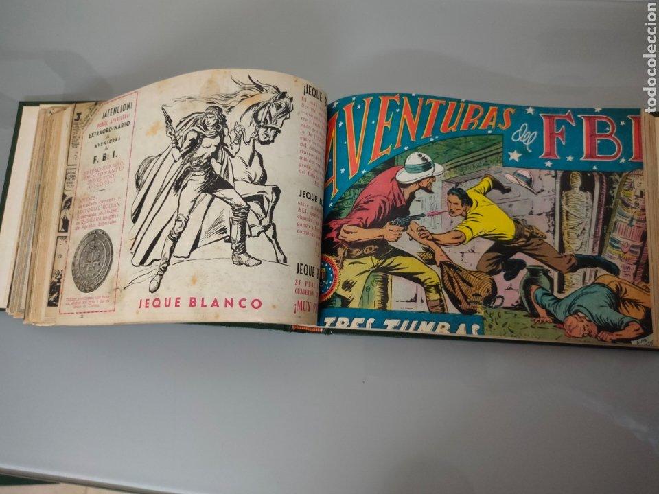 Tebeos: AVENTURAS DEL FBI Vol. ENCUADERNADO 1951 N° 1 AL 40 ROLLAN - Foto 4 - 251532325