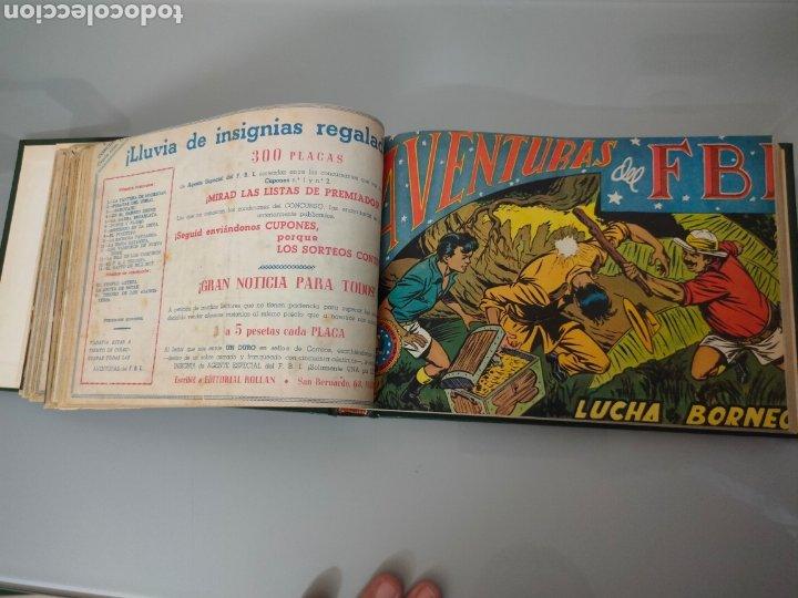 Tebeos: AVENTURAS DEL FBI Vol. ENCUADERNADO 1951 N° 1 AL 40 ROLLAN - Foto 5 - 251532325
