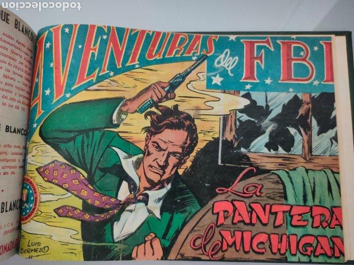 AVENTURAS DEL FBI VOL. ENCUADERNADO 1951 N° 1 AL 40 ROLLAN (Tebeos y Comics - Rollán - FBI)