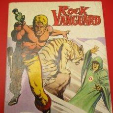 Tebeos: ROCK VANGUARD (1974, ROLLAN) 1 · 1974 · EL GRAN BRUJO DE LUFERNUM. Lote 253441810