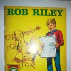Tebeos: ROB RILEY #4 (EDICIONES ROLLAN). Lote 253650700