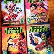Giornalini: DOCTOR DINAMO (ROLLÁN, 1973) COMPLETA 1 AL 4. SERIE AZUL.. Lote 253729765