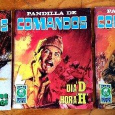 Tebeos: PANDILLA DE COMANDOS (ROLLÁN, 1973) COMPLETA NÚMEROS 1-2-3. SERIE AZUL.. Lote 253730655