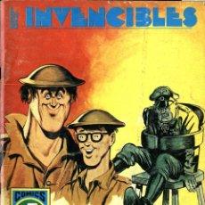 Tebeos: LOS INVENCIBLES-4: LOS HISTRIONES (ROLLÁN, 1973) SERIE AZUL. Lote 253888315