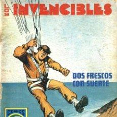 Tebeos: LOS INVENCIBLES-5: DOS FRESCOS CON SUERTE (ROLLÁN, 1973). SERIE AZUL. Lote 253888995