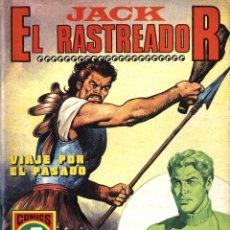 Tebeos: JACK EL RASTREADOR-1: VIAJE POR EL PASADO (ROLLÁN, 1973) SERIE ROJA. Lote 253892175