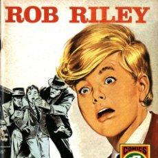 Tebeos: ROB RILEY-1: ESTIRPE DE LUCHADORES (ROLLÁN, 1973) DE JESÚS BLASCO. SERIE ROJA. Lote 253897730