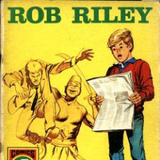 Tebeos: ROB RILEY-4: EL RESCATE (ROLLÁN, 1973) DE JESÚS BLASCO. SERIE ROJA. Lote 253898080