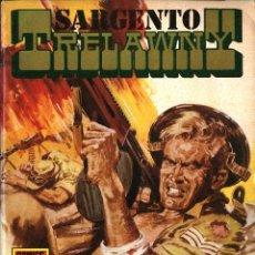 Tebeos: SARGENTO TRELAWNY-1:TORRENTE DE METRALLA (ROLLÁN, 1973). SERIE ROJA. Lote 253899445