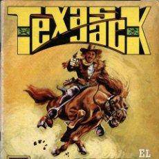 Tebeos: TEXAS JACK-1: EL CABALLERO DE LA FRONTERA (ROLLÁN, 1973). SERIE AZUL. Lote 253899935