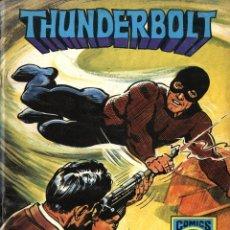 Tebeos: THUNDERBOLT-2: EL GAS DE LA MUERTE (ROLLÁN, 1973) SERIE AZUL. Lote 253900275