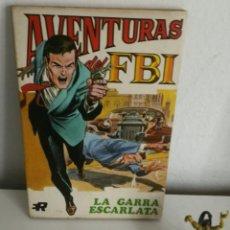 Tebeos: AVENTURAS DEL FBI Nº 2 LA GARRA ESCARLATA EDITORIAL ROLLÁN. Lote 254099270