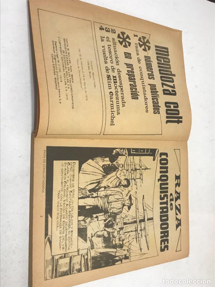 Tebeos: LOTE 2 COMICS MENDOZA COLT Nº1 Y Nº4 - Foto 5 - 254369190