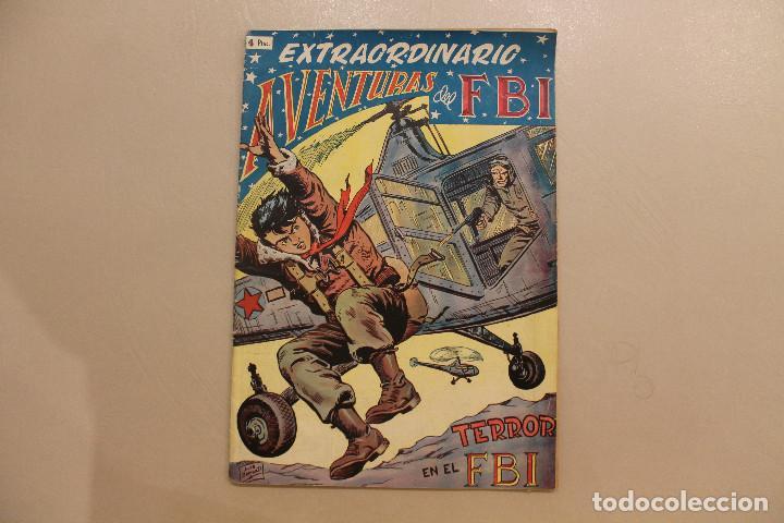 EXTRAORDINARIO AVENTURAS DEL FBI, TERROR EN EL FBI, EXTRAORDINARIO NÚM 5 (Tebeos y Comics - Rollán - FBI)