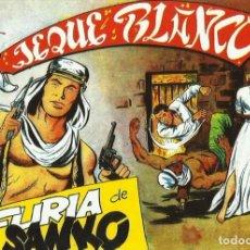Tebeos: EL JEQUE BLANCO ---NUMERO 100 ---LA FURIA DE SANKO --EDITORIAL ROLLAN. Lote 254607430