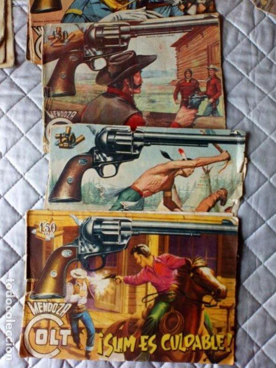 Tebeos: Mendoza Colt LOTE 5 Tebeos ORIGINALES ROLLAN - Foto 2 - 255412720