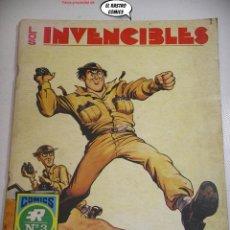 Tebeos: LOS INVENCIBLES Nº 1 (3) LA GUERRA EN BROMA, ED. ROLLAN AÑO 1973, SERIE AZUL. Lote 257956600