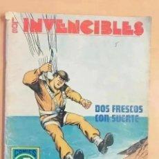 Tebeos: LOS INVENCIBLES - DOS FRESCOS CON SUERTE. ROLLAN. SERIE AZUL. NUM 7. Lote 260848275