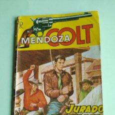 Tebeos: MENDOZA COLT Nº 13 ROLLAN JURADO DE TRUANES 64 PAGINAS AVENTURA COMPLETA. Lote 261303090