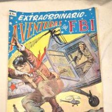 Tebeos: AVENTURAS DEL FBI EXTRAORDINARIO TERROR EN EL FBI Nº 2, ORIGINAL COMPLETO. Lote 261913620