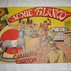 Tebeos: JEQUE BLANCO. EDITORIAL ROLLÁN. Nº 127.. Lote 262779655
