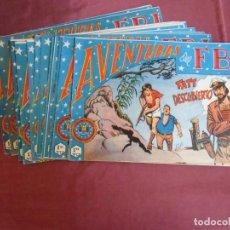 Tebeos: AVENTURAS DEL F.B.I.EDIT,ROLLAN.LOTE DE 14 NUMEROS.VER RELACION DE LOS NUMEROS.. Lote 262954300