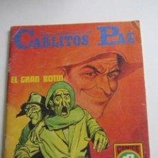 """Tebeos: LAS AVENTURAS DE CARLITOS PAZ """"EL GRAN BOTÍN"""". SERIE ROJA N° 15. EDITORIAL ROLLÁN 1973 ARX98. Lote 263167045"""