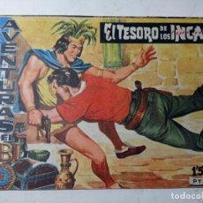 Tebeos: ORIGINAL NO COPIA AVENTURAS FBI EL TESORO DE LOS INCAS 208 AÑO 1959. Lote 263908875